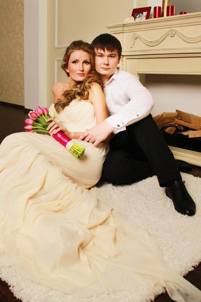 Norilsk Russia - Russian couple posing