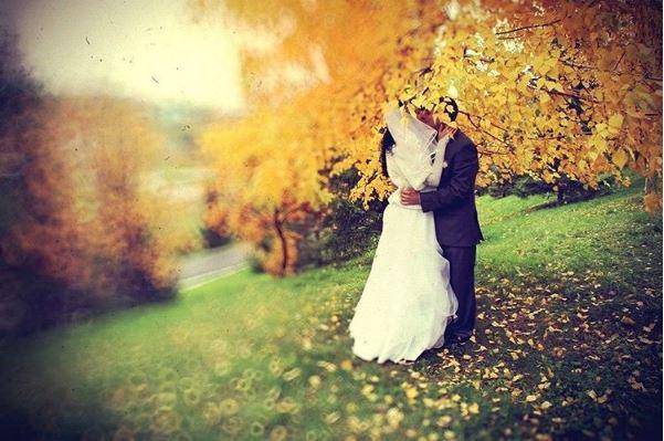 Norilsk Siberia - Russian couple kissing