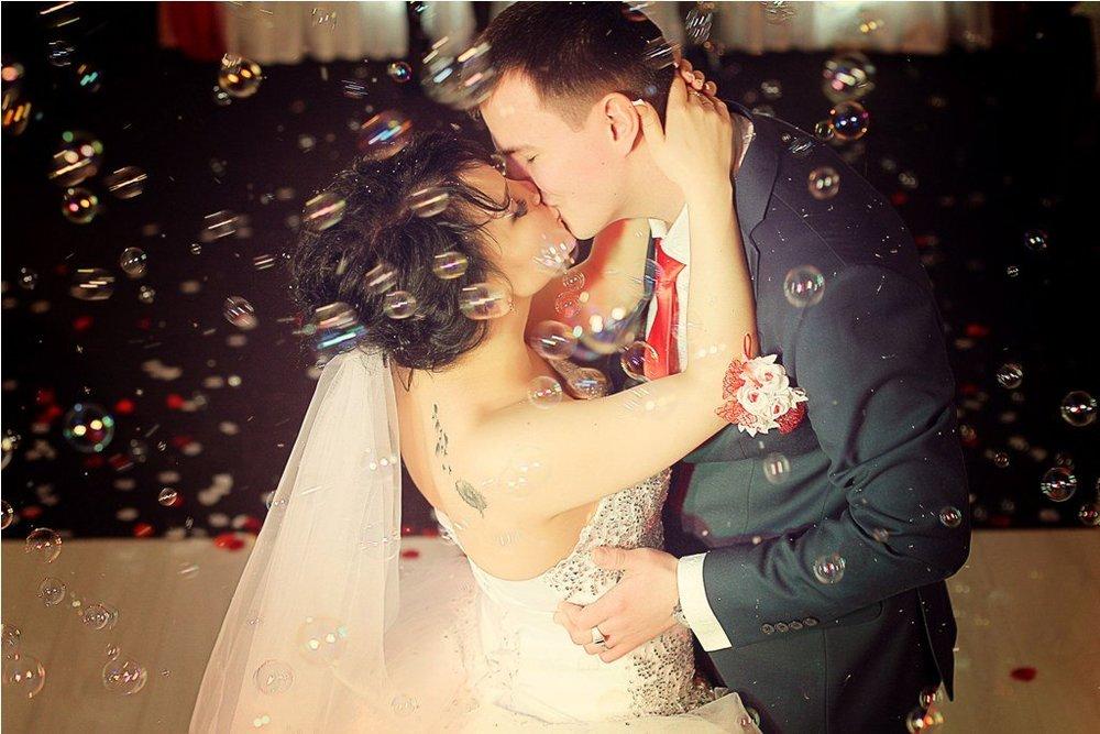 Norilsk Siberia - Couple kissing passionately