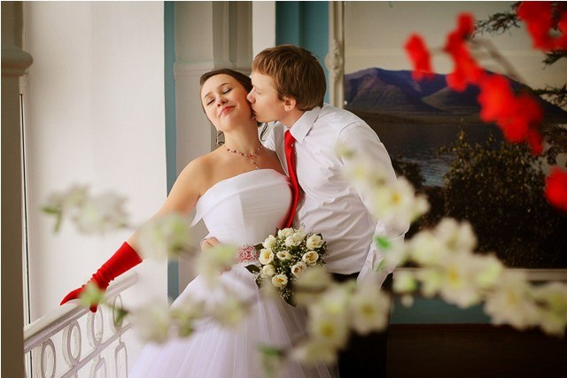 Norilsk life - Young Russian couple in love