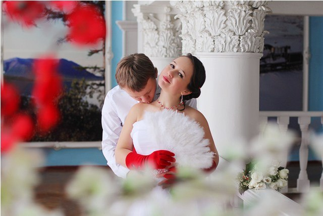 Norilsk life - Beautiful Russian bride and her groom