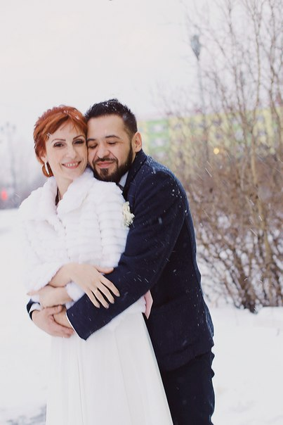 Norilsk life - Russian couple in love
