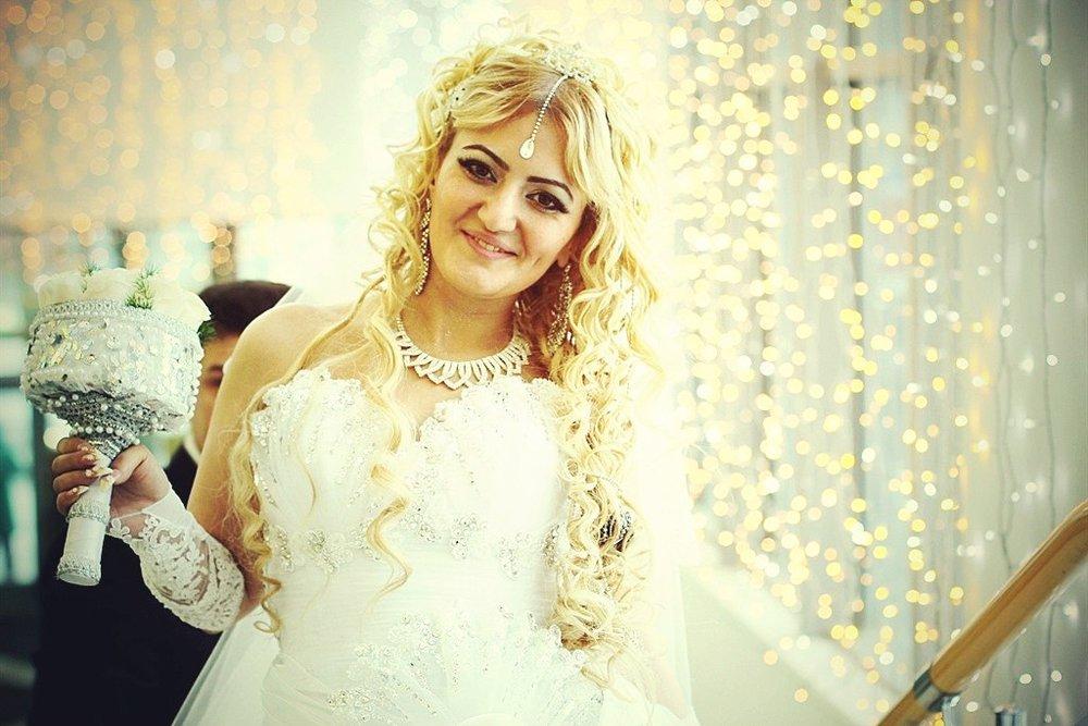 Norilsk people - Beautiful blonde bride