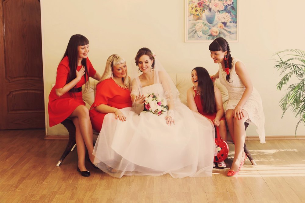 Norilsk life - Russian bride and friends