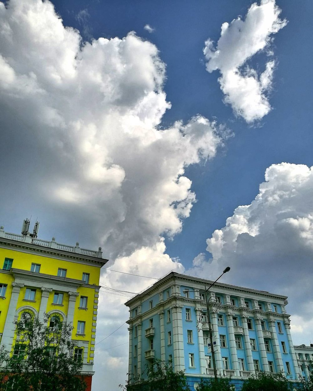 Norilsk Russia: Bye, Bye, Summer with Your Blue Skies