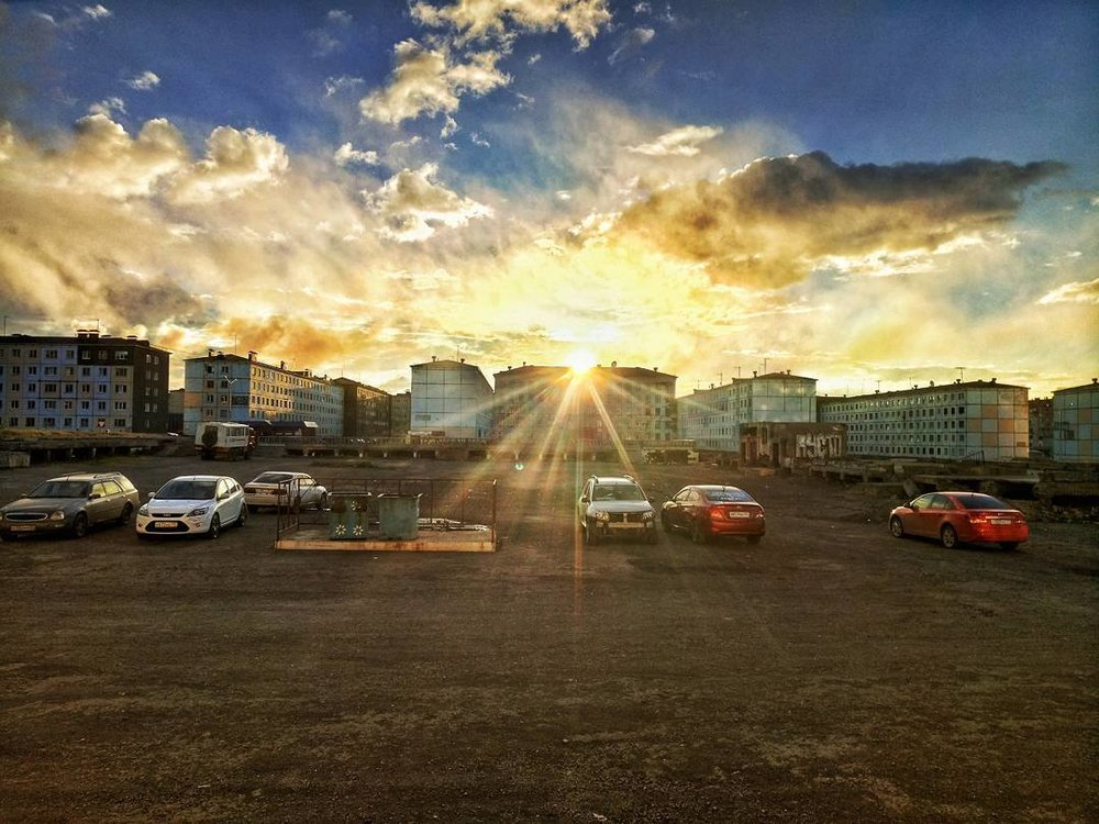 Norilsk - A busy day in the Siberian city