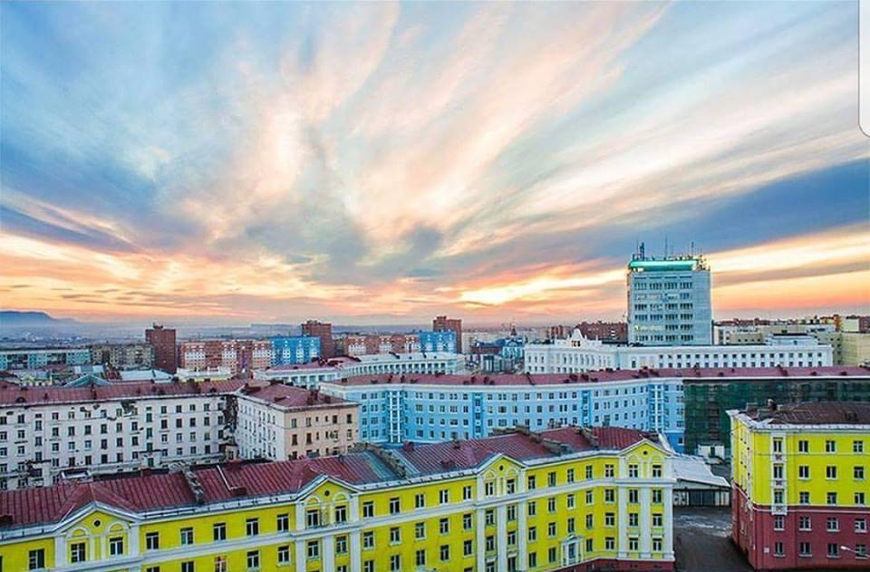 Norilsk sky - Summer dawns and sunsets