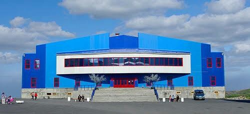 The Kayerkan Region Ice Sport Palace, Norilsk.