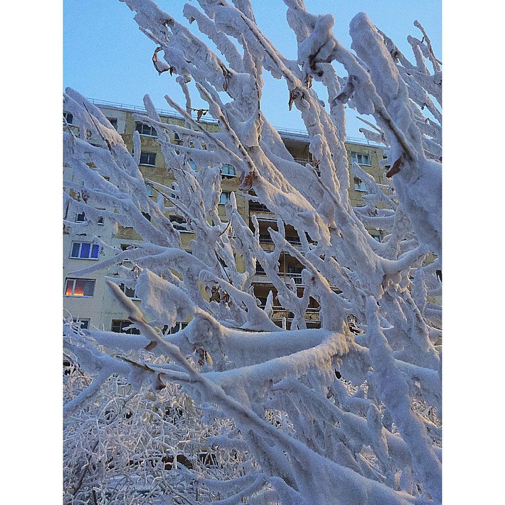 Norilsk Russia weather - Beauty on ice
