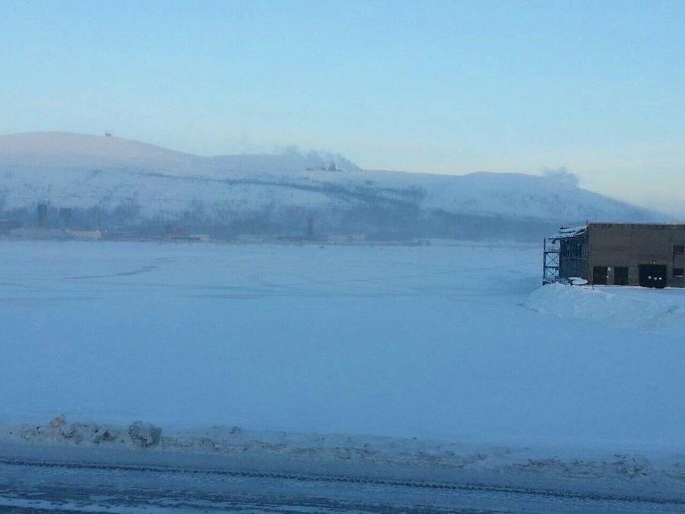 Norilsk Russia weather - Beuty on ice