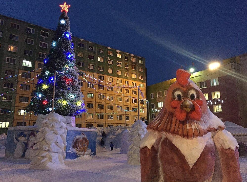 Norilsk - Fun on the white snow