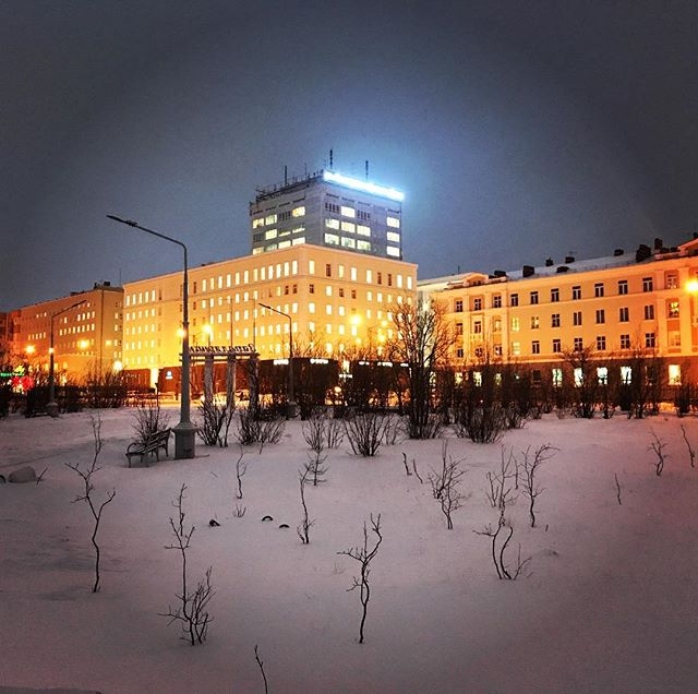 Norilsk Russia winter