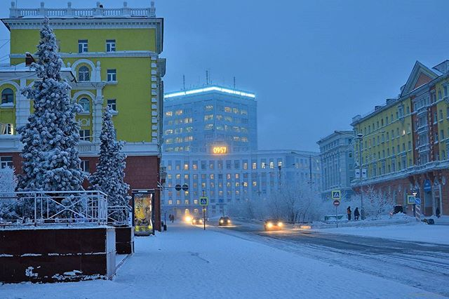I want to live in Norilsk
