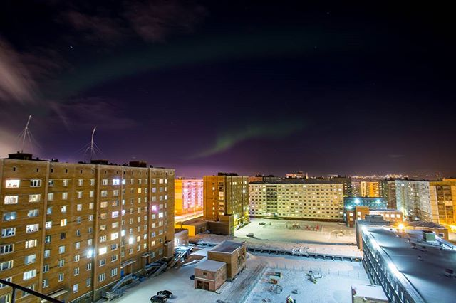 Let's do some photos of Norilsk