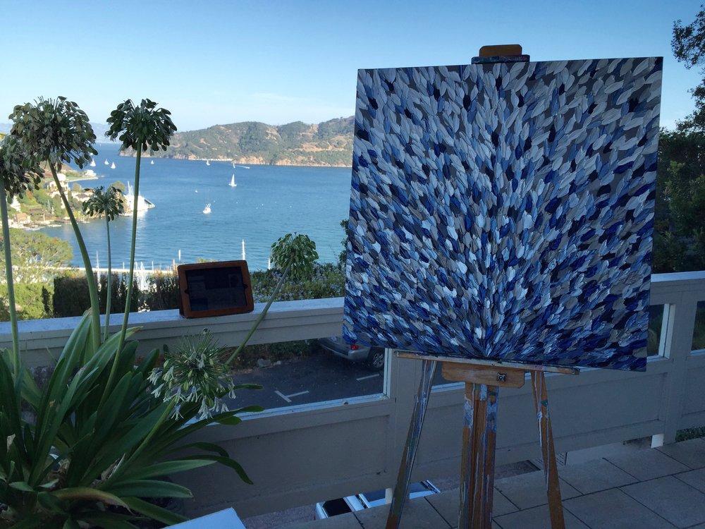 Pablo's studio
