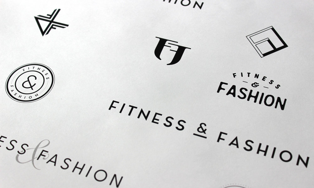 Fitness and Fashion Logo Concepts