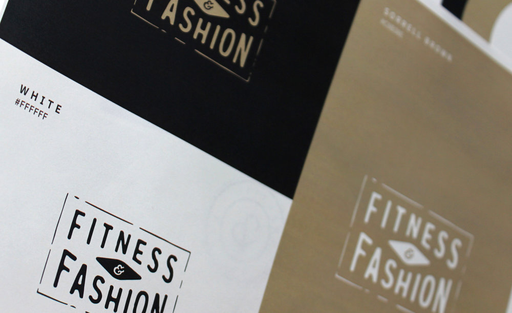 Fitness and Fashion Final Logo Design