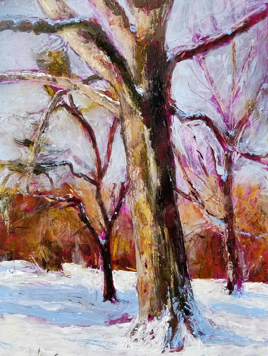 Snow Tree, January
