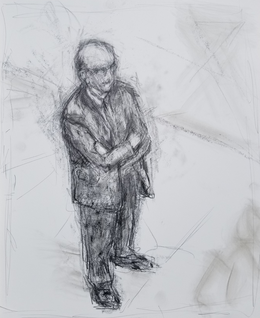 Standing Man at the Dance
