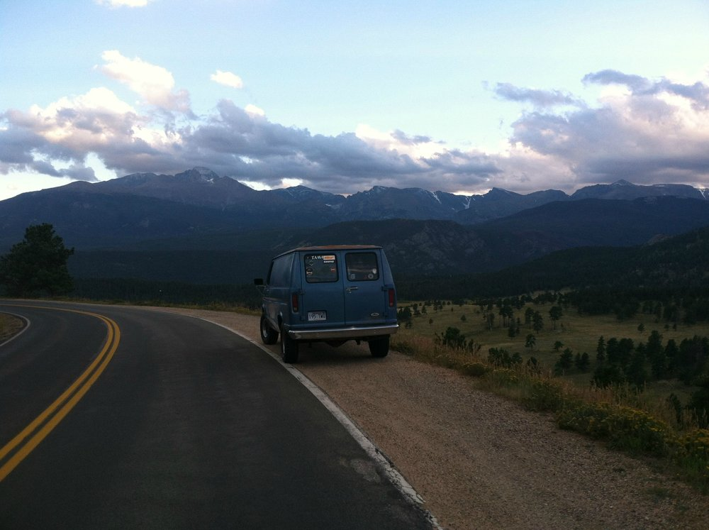 My first van, a 1985 Ford Econoline