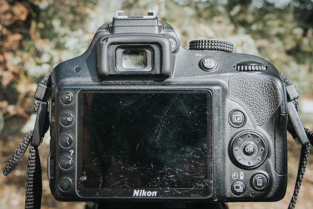 Said camera, a Nikon D3300