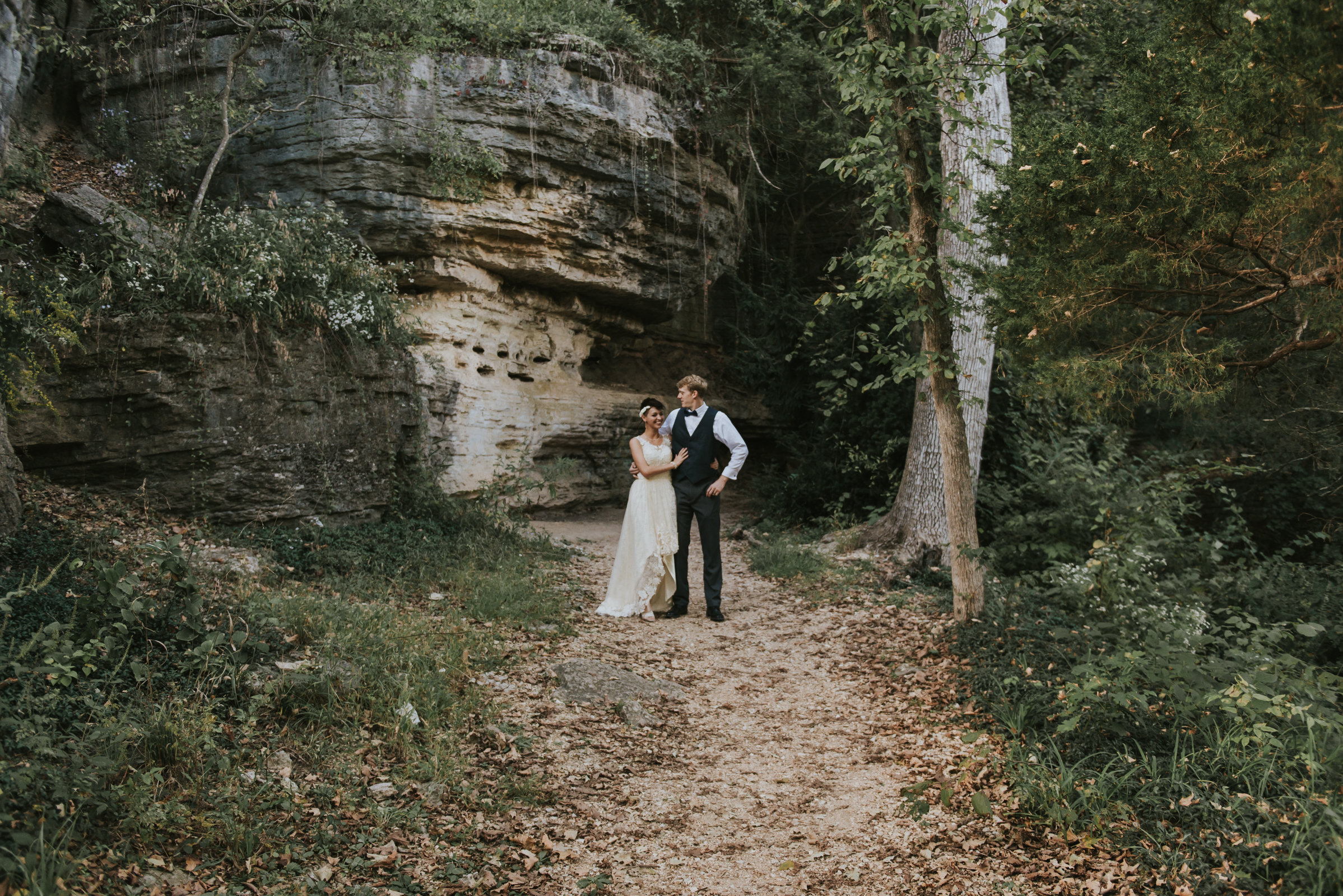 Eureka Springs Elopement - Basin Park