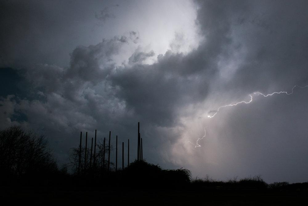 Lightning Storm Bentonville, Arkanasas