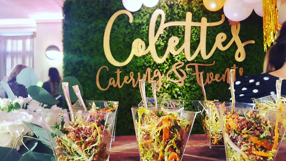 Some of our fave food and drink from the @casavertigo grand re-opening this week. Featuring @colettescatering @parisbaguette_usa @goodgraciousevents & @tendwithbenefits