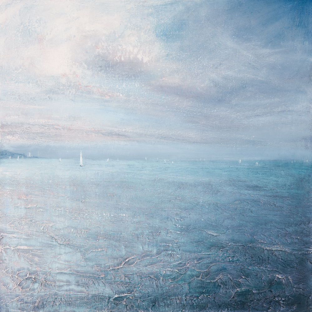Sailing from Falmouth   61cm x 61cm