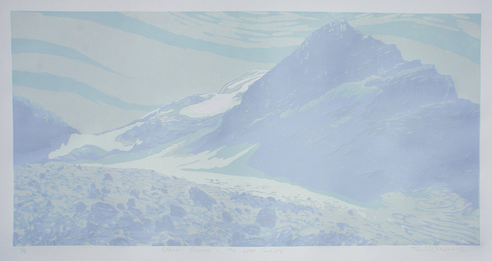 Sperry Glacier – The Last Glacier (Detail)