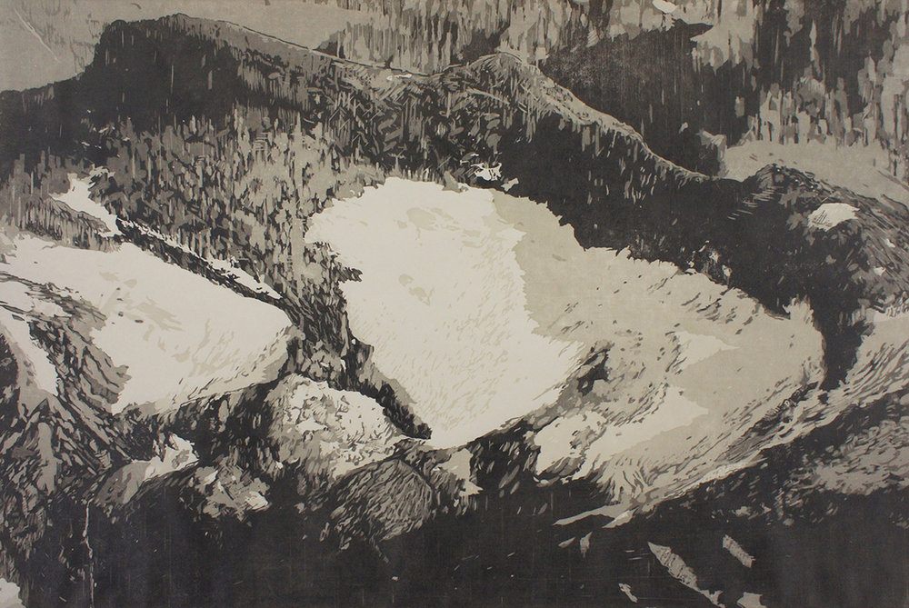 Swiftcurrent Glacier – The Last Glacier (Detail)