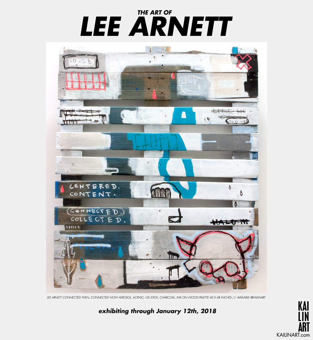 THE ART OF LEE ARNETT