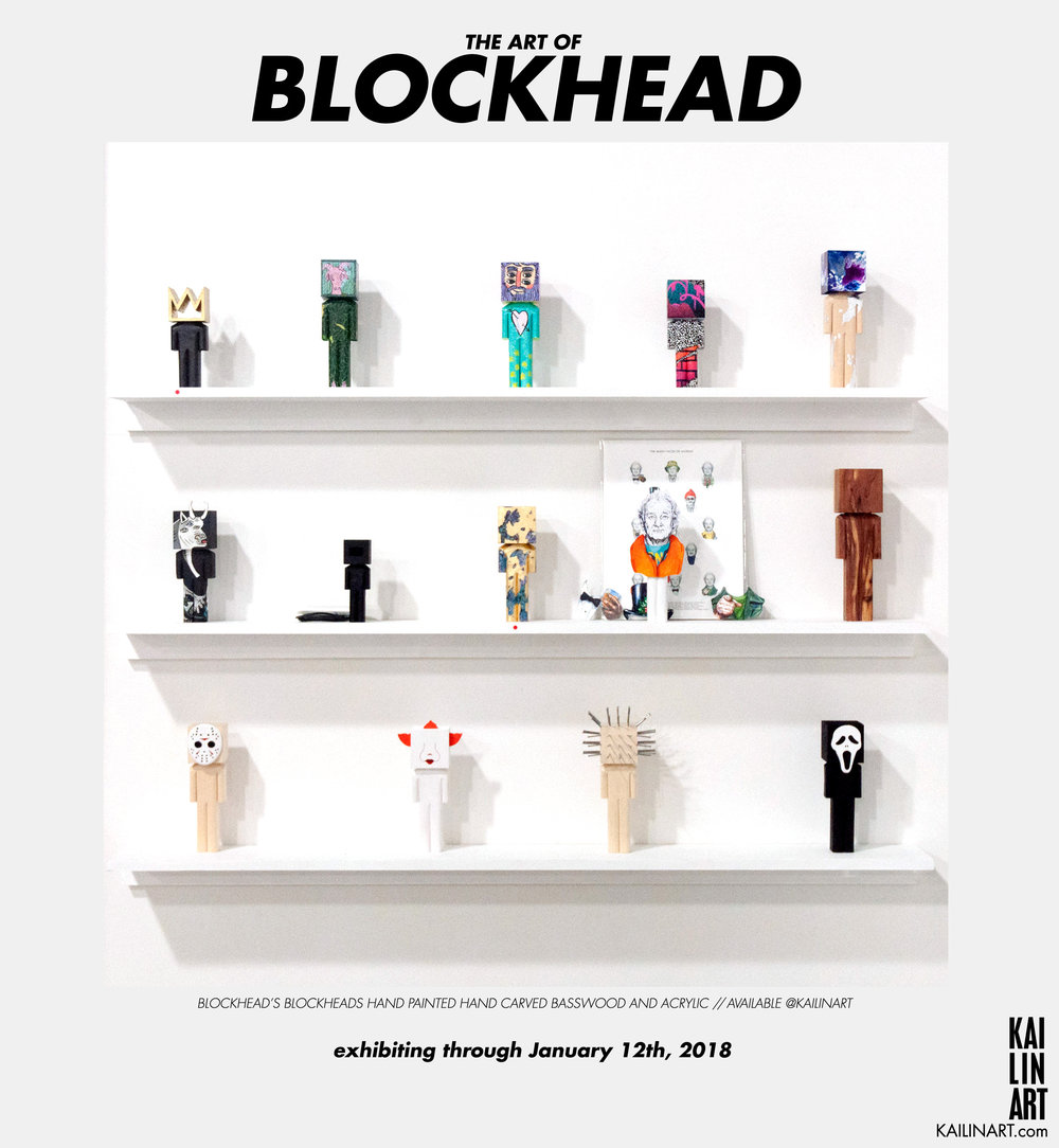 THE ART OF BLOCKHEAD