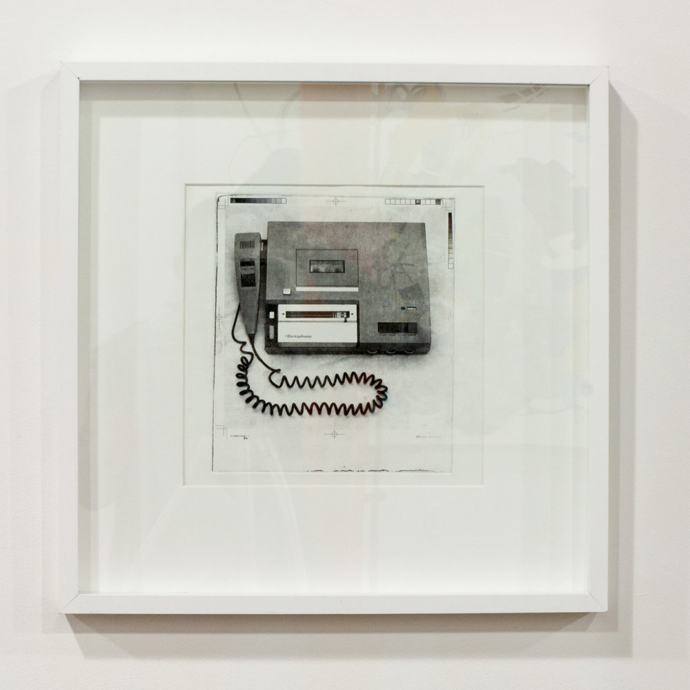 1979 (Dictaphone) photogravure 12 x 12 inches JKO 092G