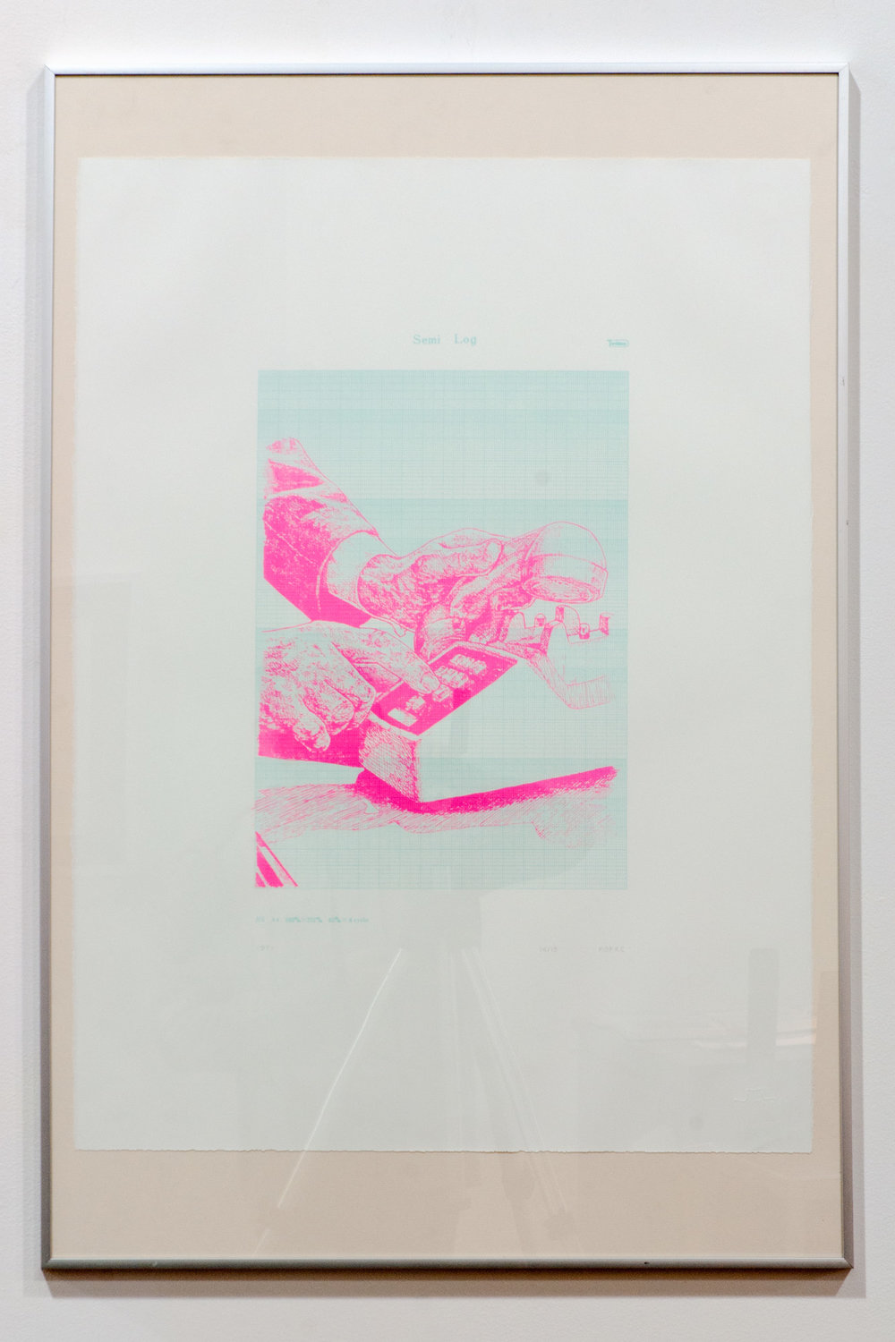 1971 screenprint on paper 35 x 25 inches JKO 095G
