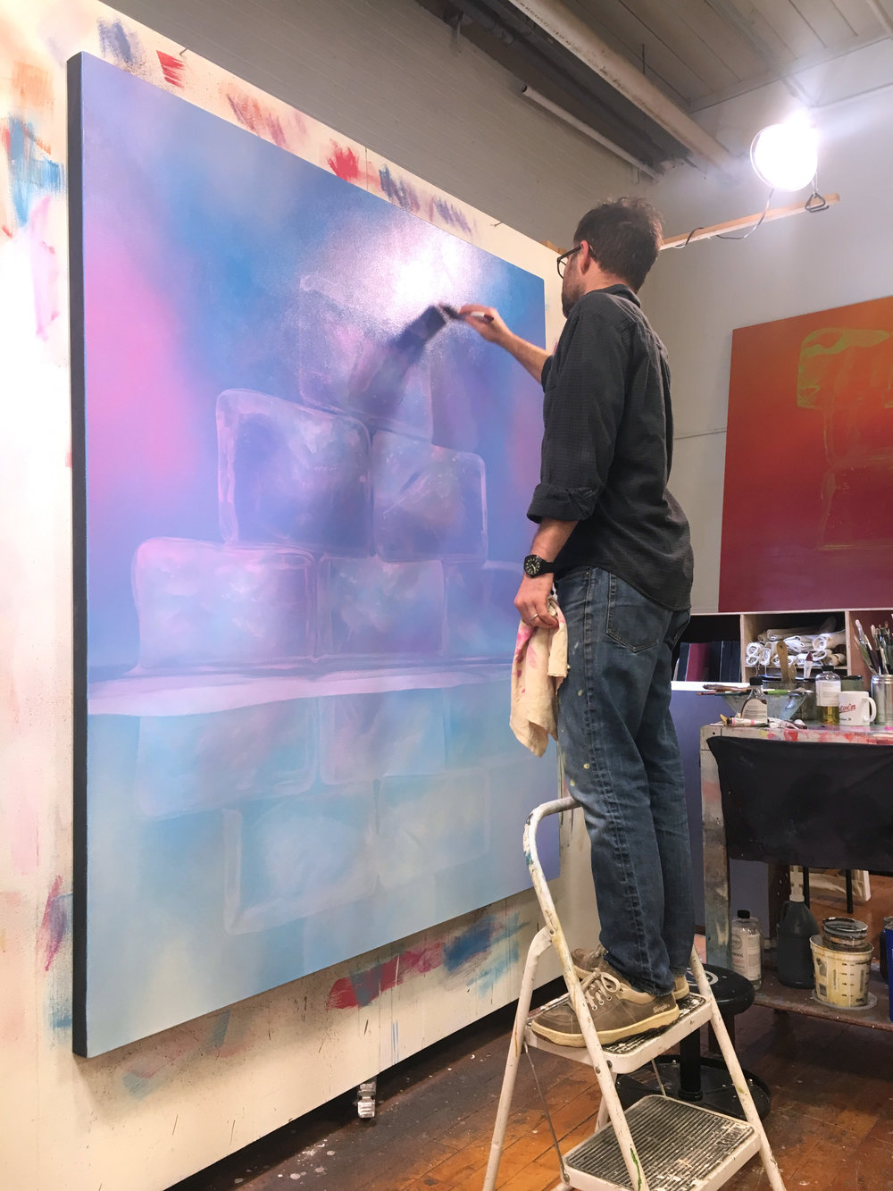 IN THE STUDIO WITH KEVIN PALME  on exhibit through June 15  see more