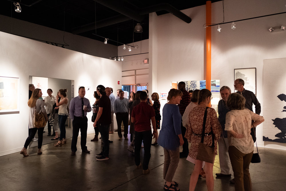 INFINITY OPENING PHOTOS  on exhibit through Nov 9 @kailinart  see more