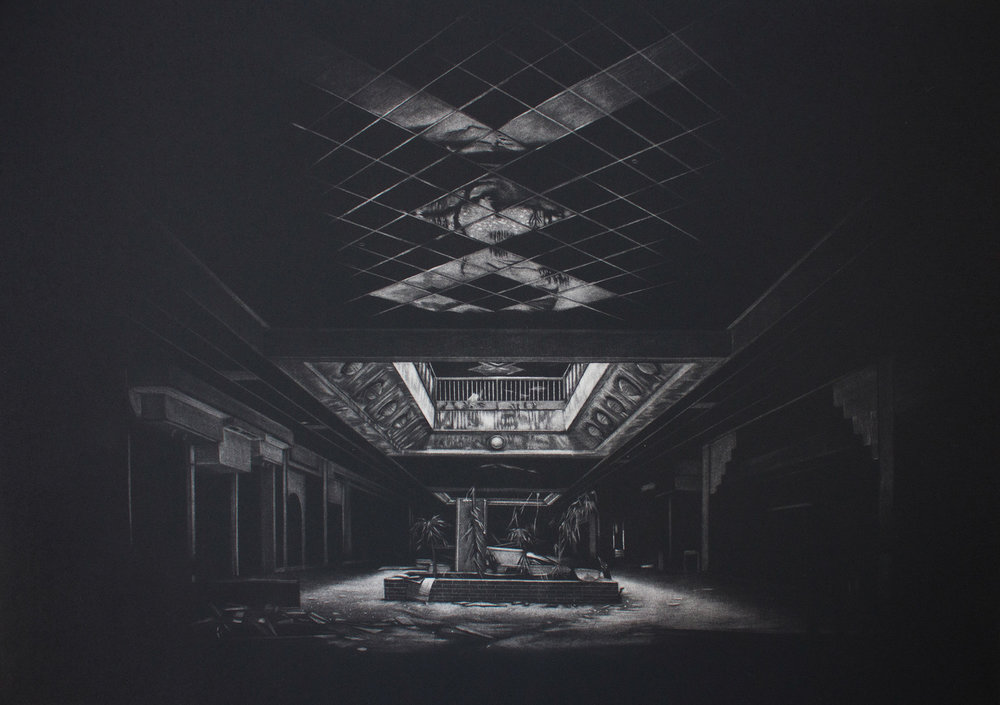 Jacob Crook   Everything Must Go  Mezzotint 12 x 18 inches, APS 212G