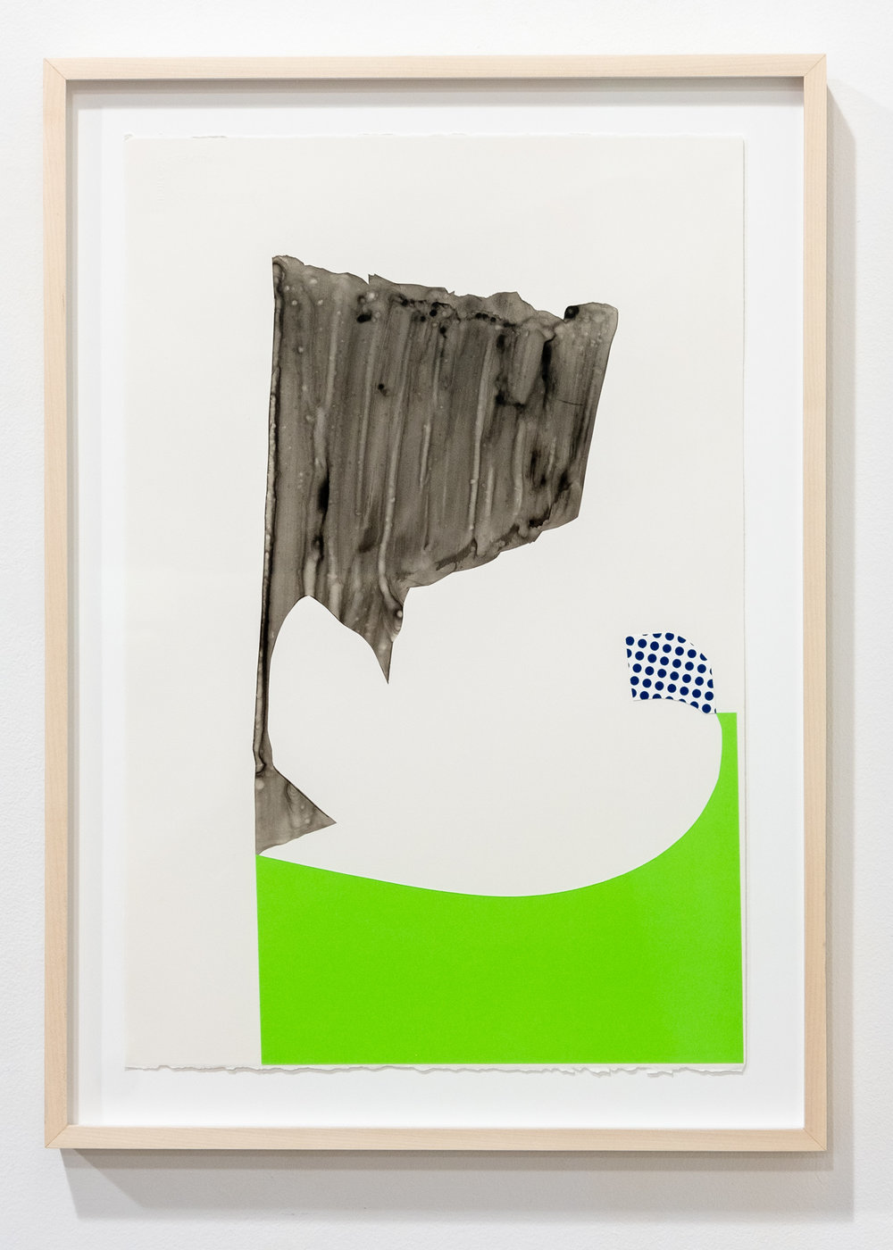 Joe Camoosa and Ry McCullough   Confluence 05   Inks, Mylar & cut paper on Arches, 22 x 15 inches JCA 064G