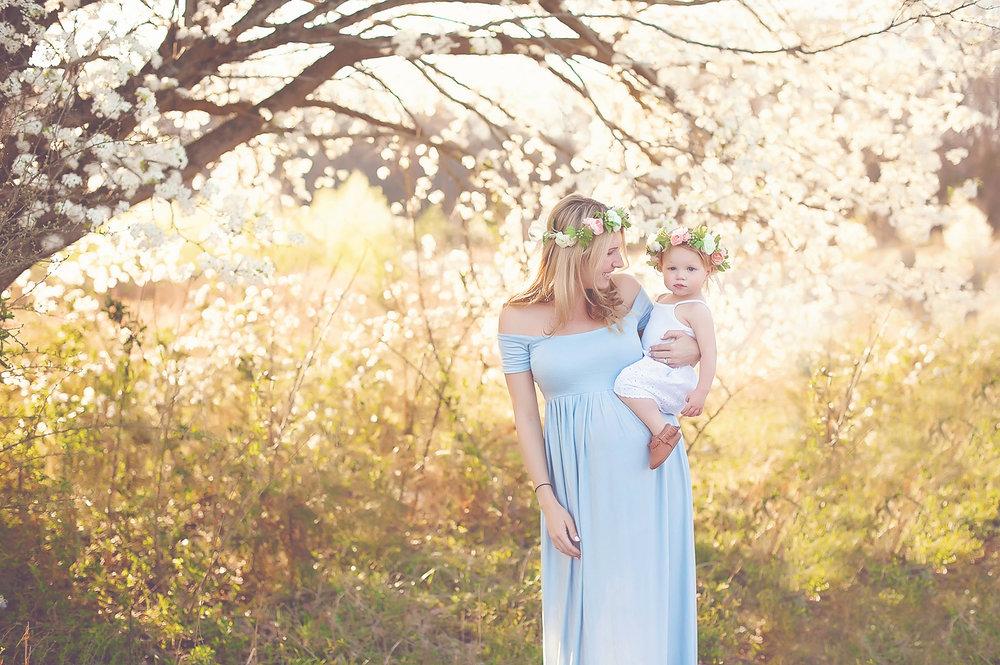Spring portraits greensboro nc