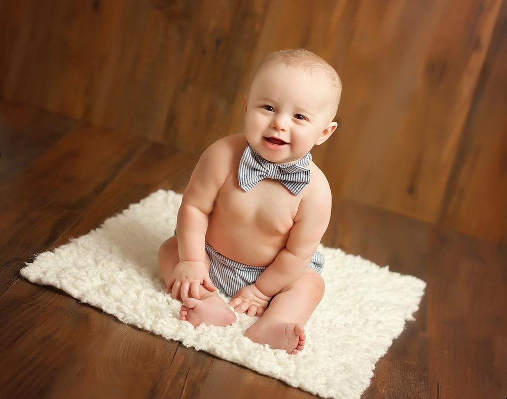 Babys First Year Photography Milestones Greensboro Burlington