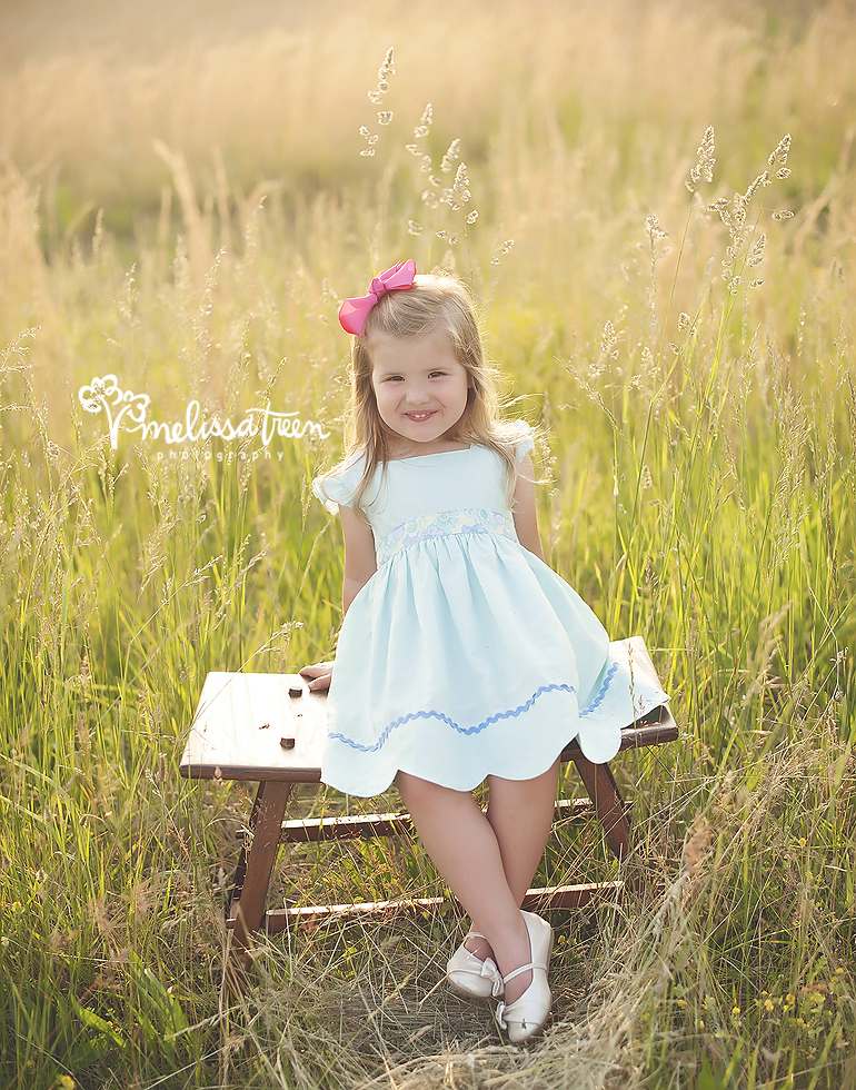 adorable child photo in field sunset greensboro nc family pictures.jpg