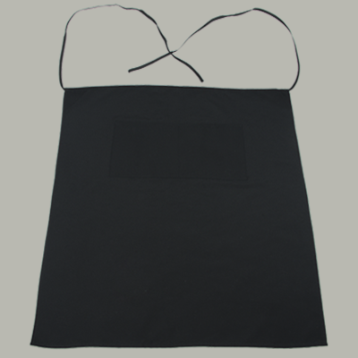 Black Bistro Apron 2 Pockets