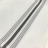 Bistro Napkin - Black Napkin Size: 16x26