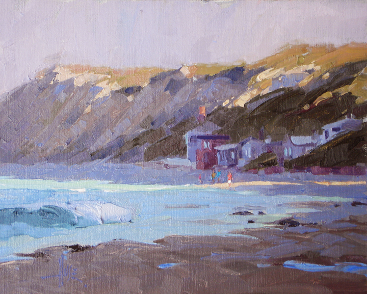Early Morning Stroll Crystal Cove 8x10 by Debra Huse web copy.jpg