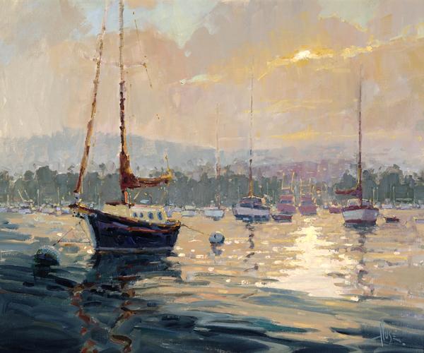 Harbor Daybreak 20x24 by Debra Huse lowres copy.jpg