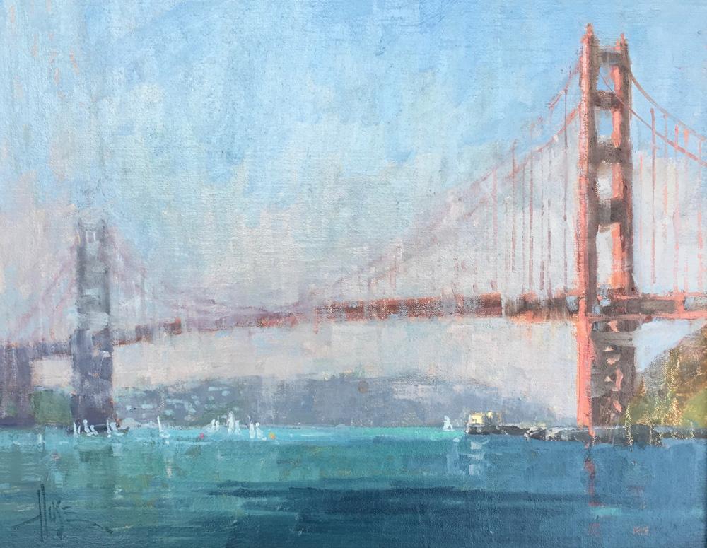 Golden Gate Regatta © Debra Huse11x14.jpg