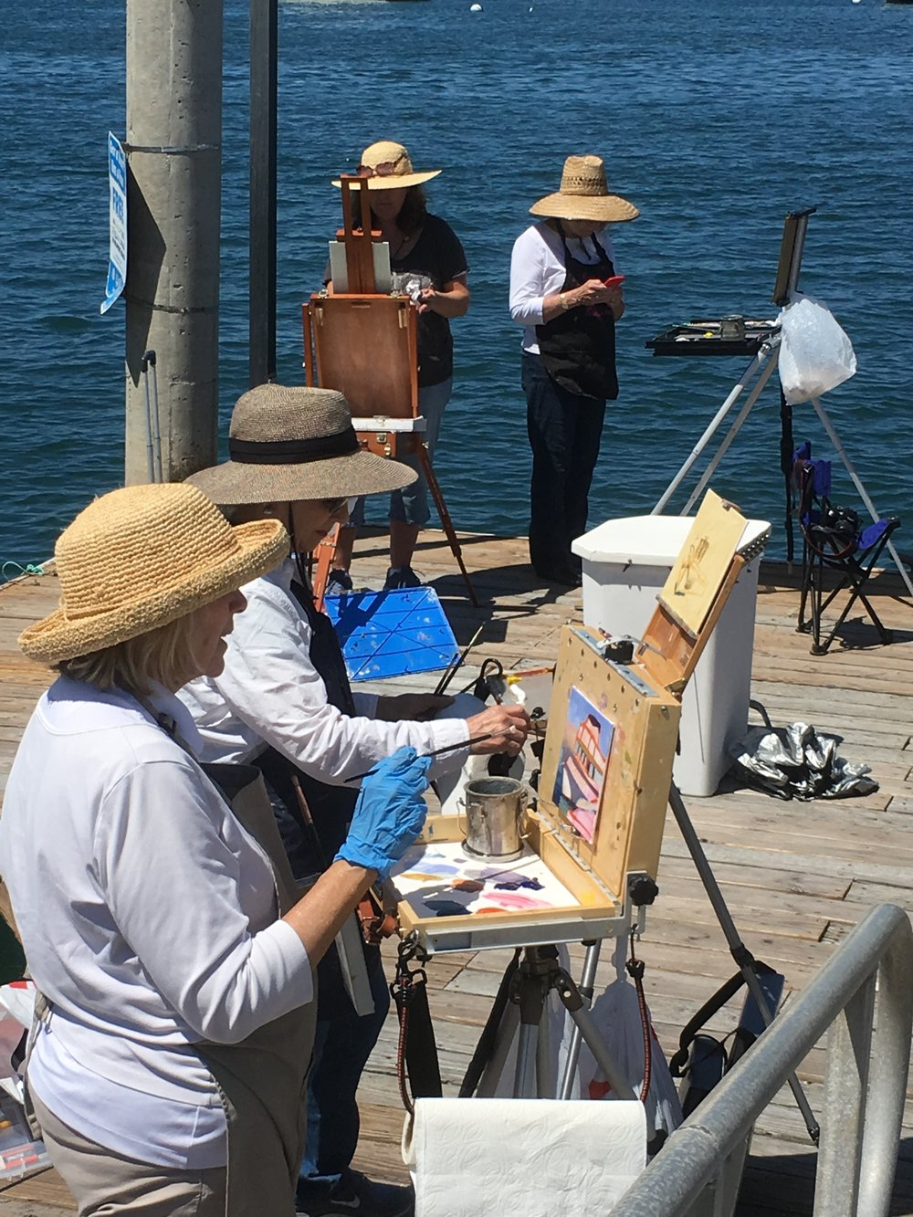 What a great time and I learned so much about how to simplify, work with bigger brushes, find the light and shadow. Best part is that I always sell all my paintings from your workshops! Thanks Again.  -Scottie Brown -