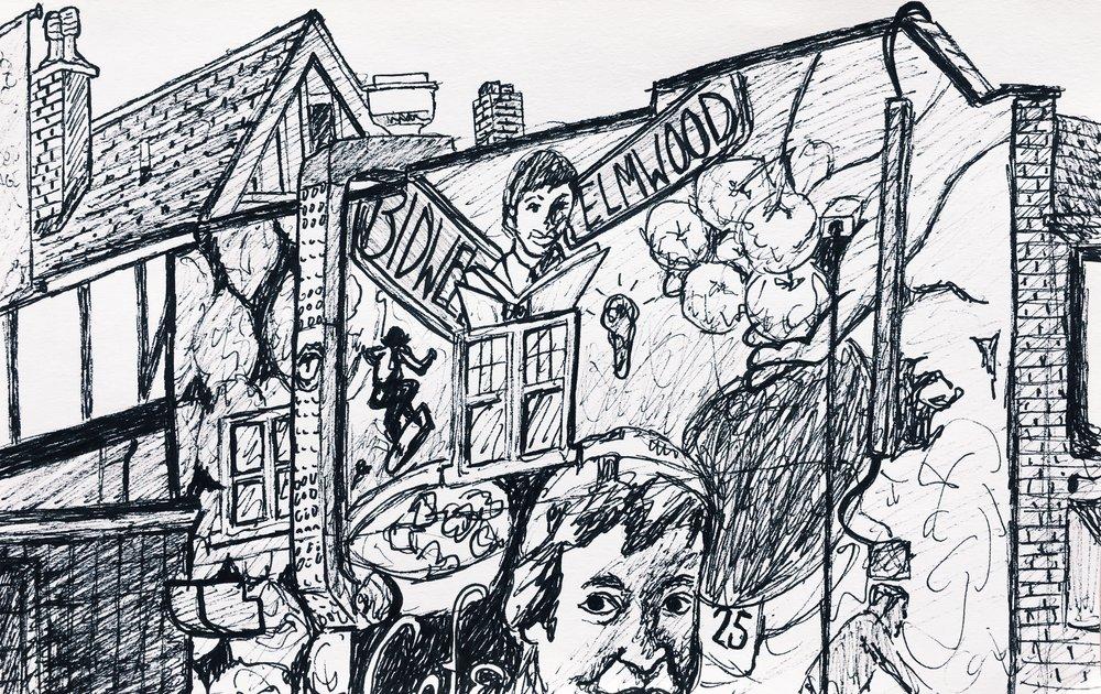 Elmwood Street Scene