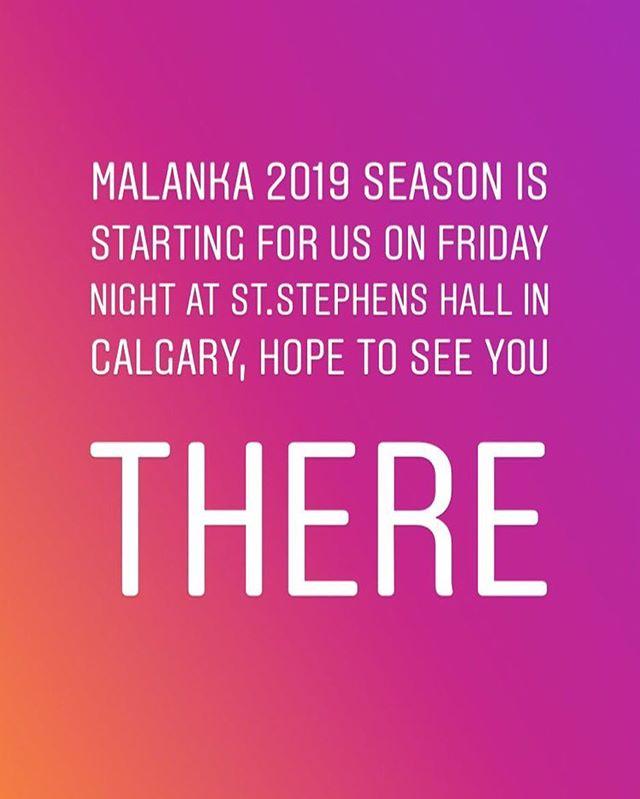 Kickin' off 2019 Malanka Season on Friday night at St.Stephens hall.